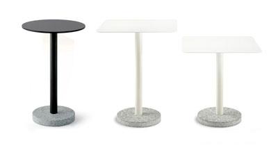 BERNARDO TABLES - RODA outdoor furniture - David Shaw