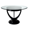 LALIQUE SIDE/DINING TABLE photo