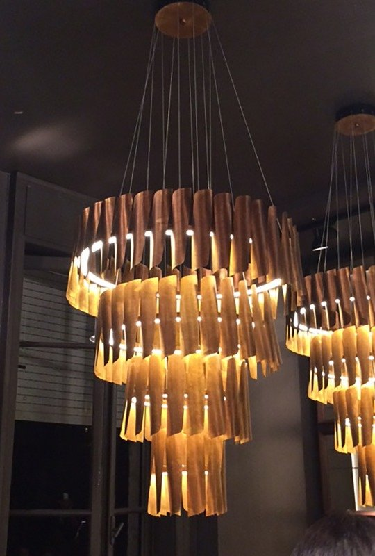 BK chandelier