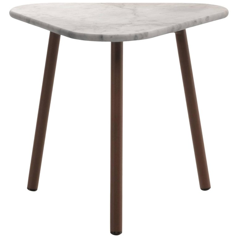 Piper side coffee table stone sml
