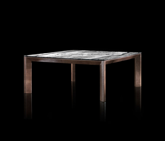 Soprano Wood Marble Table Top View 3