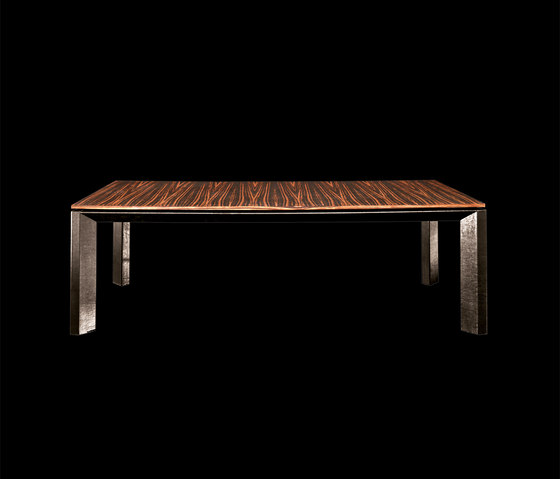 Soprano Wood Marble Table