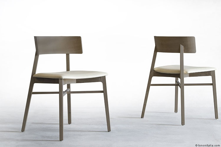 TRINAGOLO 230 Chair Wood White