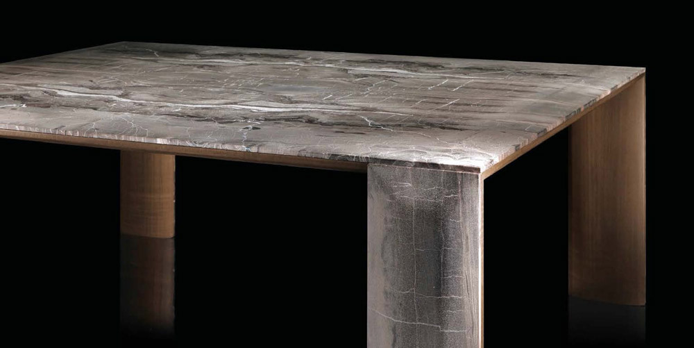Ly Table Metal Wood