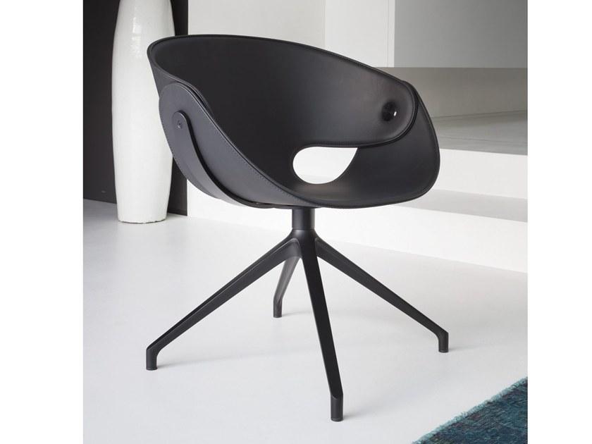 Flat Chair Black